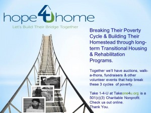 Breaking Three Poverty cycles: No Food, No Work, No Home - Help Us Help Them